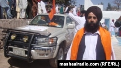 An Afghan Sikh in traditional dress (file photo)