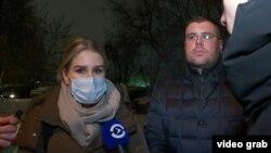 Lyubov Sobol talking to Current Time on January 21.
