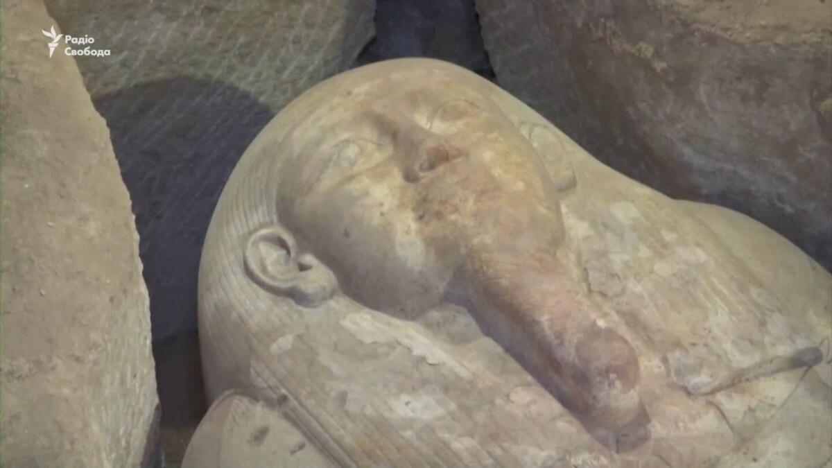 В Египте в гробнице возрастом 2500 лет нашли саркофаги жрецов и чиновников – видео