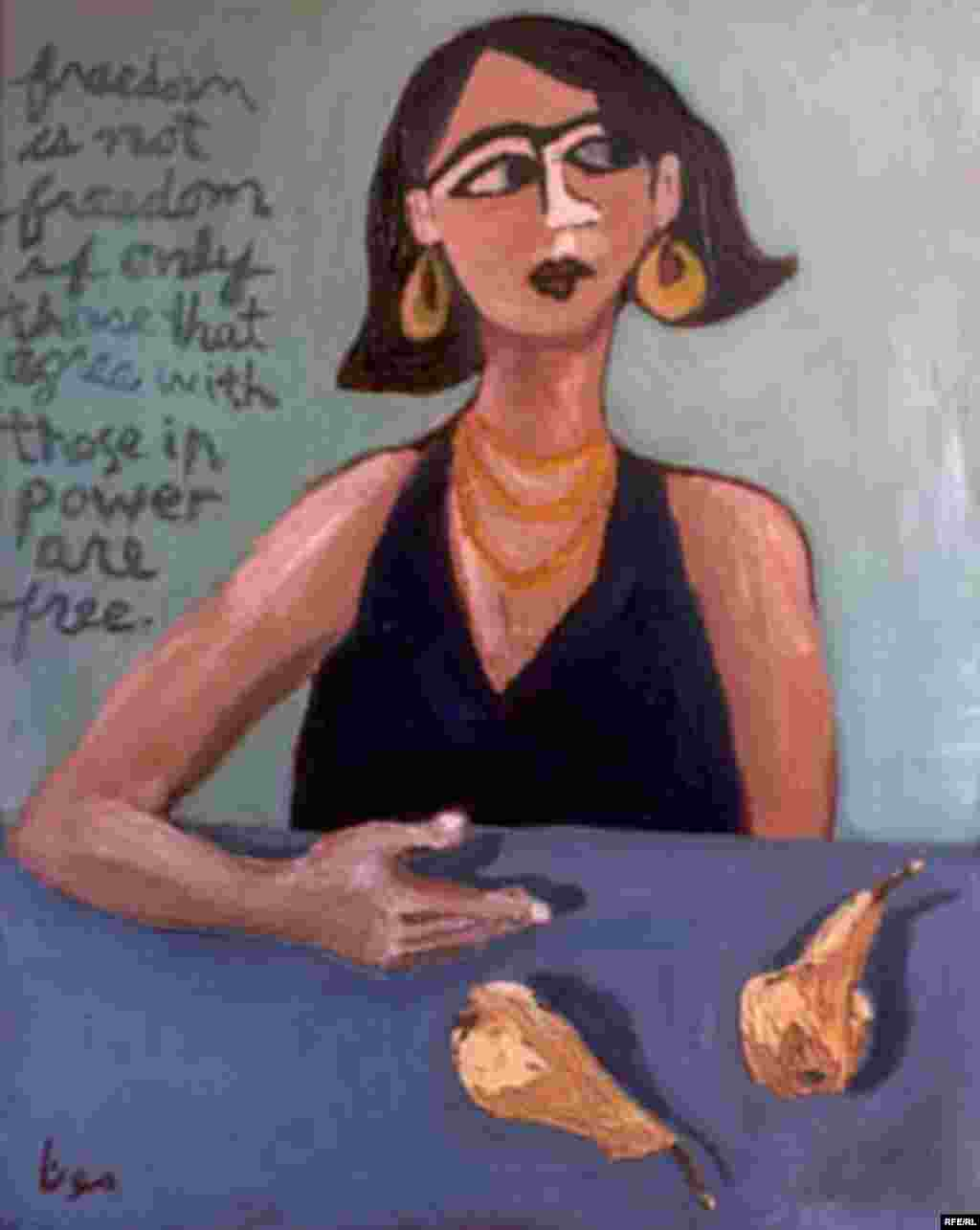 Iranian-American Artist Mona Shomali #4
