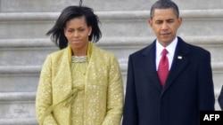 Michelle və Barack Obama