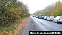 Автомобильные очереди к КПВВ