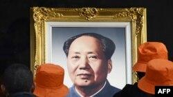 Мао Цзедуннің портреті. (Көрнекі сурет)