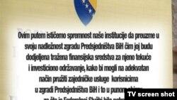 Bosnia and Herzegovina Liberty TV Show no. 924