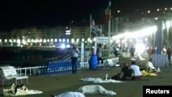 Тела жертв террористической атаки