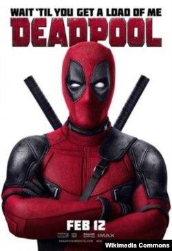 """Deadpool"" filminin posteri."