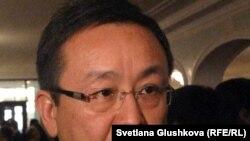 Алмаз Шарман, заместитель председателя исполнительного совета Назарбаев Университета. Астана, 11 ноября 2011 года.