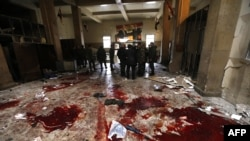 حمله انتحاری در کاخ دادگستری دمشق