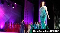 Сулуулар сынагынын жарым финалы. 28-февраль, 2015-жыл. Бишкек.
