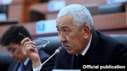 Исхак Масалиев. Архивдик сүрөт.