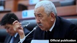 Kyrgyz deputy Ishak Masaliev