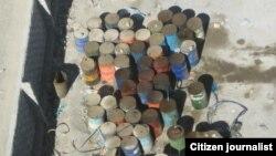 بشکههای سوخت قاچاق در سیستان و بلوچستان