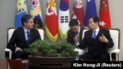 ملاقات انتونی بلینکن با وزیر دفاع کوریای جنوبی