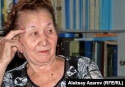 Внучка А. Байтурсынова Айман Байсалова. Алматы, 3 сентября 2012 года.