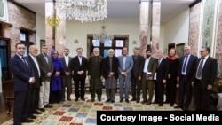 شماری از اعضای کمیته گزینش عصر چهارشنبه با رئیس جمهور در ارگ دیدند.