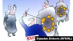 Karikatura Đoke Ninkovića, ustupljena fotografija