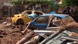 Macedonians Continue Clean-Up After Devastating Floods