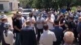 Народный сход в Учкекене, скриншот с видео