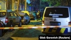Наслідки вибуху біля будівлі телеканалу «Еспресо», 25 жовтня 2017 року