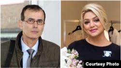 دو شهروند ایرانی درگیر در دو عملیات امنیتی خارج از مرزهای ایران؛ نیلوفر بهادریفر (راست) و مهرداد عارفانی