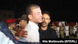 Sahrana ubijenih policajaca na Sinaju