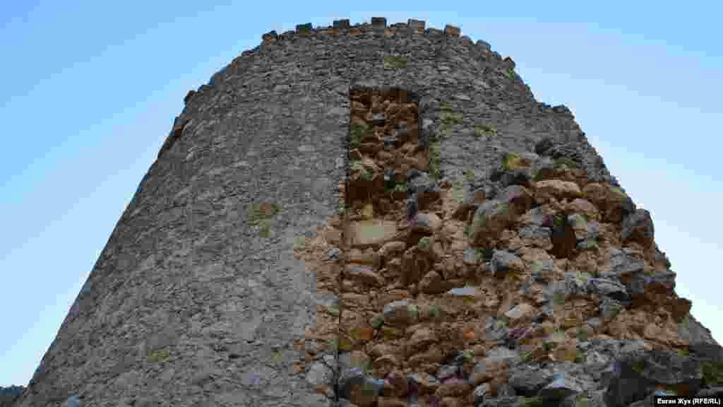 Фортеця була однією з ланок у торговельному ланцюгу відносин між Генуєю і Китаєм, тому під час археологічних розкопок тут знаходили товари з різних куточків євразійського регіону