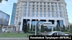 Алматыдағы Rixos қонақүйі. 7 тамыз 2021 жыл.