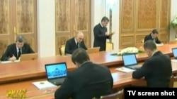 Заседание правительства Туркменистана (архивное фото)