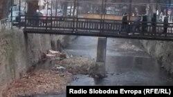 Реката Драгор во Битола