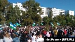 Акція в Башкортостані, Уфа, 16 вересня 2017 року