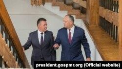 Встреча Игоря Додона и Вадима Красносельского в Кондрице