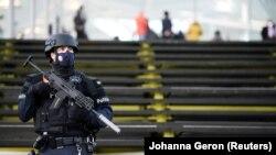 Policajac u Belgiji (ilustrativna fotografija)