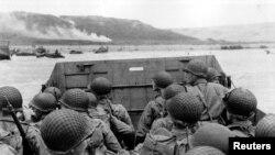 Амэрыканскія войскі высаджваюцца ў Нармандыі 6 чэрвеня 1944 году