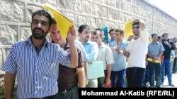 صفوف الباحثين عن عمل في الموصل