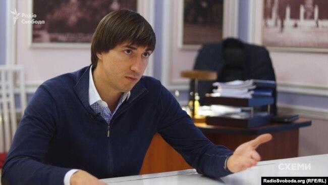 Керівник департаменту охорони культурної спадщини КМДА Олександр Никоряк