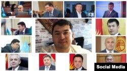 Депутаттык комиссиянын мүчөлөрү жана Айеркен Саймаити (ортодо).