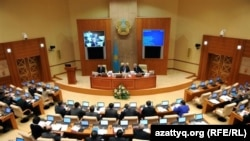 Deputies are seeking an early vote to replace the current makeup of the Mazhilis, or lower house of the Kazakh parliament.