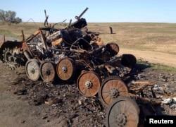 Зруйнована БМП-2