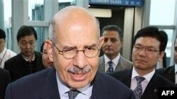 آقای البرادعی نسبت به حل موضوع برنامه هسته ای ایران ابراز امیدواری کرده است.