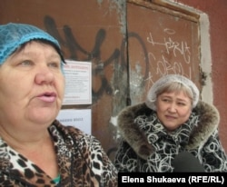 Нина Боровских и Лариса Галиахметова