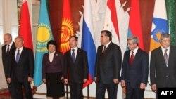 Лидеры стран-участниц ОДКБ