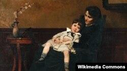 Сэсілія Бо, «Апошнія дні маленства» (1884).