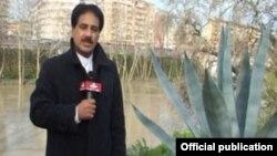 حمید معصومی نژاد، «خبرنگار» واحد مرکزی خبر در ایتالیا که به جرم دست داشتن در قاچاق اسلحه به ایران بازداشت شده است.