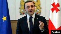 Грузия Бош вазири Иракли Гарибашвили.