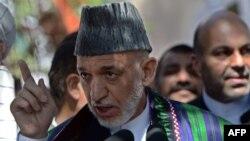 Presidenti në largim i Afganistanit, Hamid Karzai (ARKIV)
