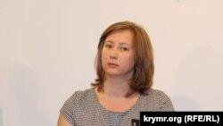 Глава Крымской полевой миссии по правам человека Ольга Скрипник