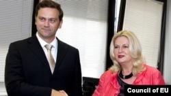 Српскиот и косовскиот преговарач во Брисел