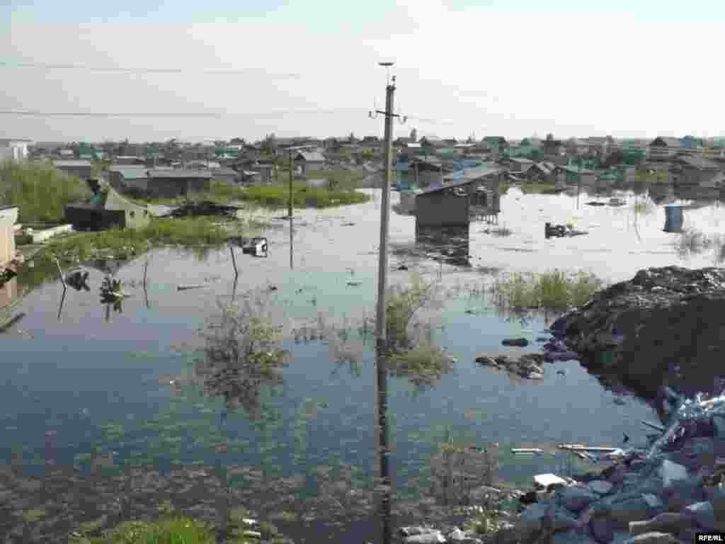 Разрушительное наводнение в Шаныраке #23