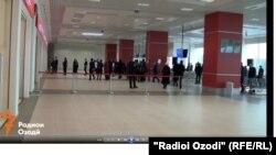 В международном аэропорту Душанбе