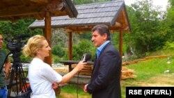 Amarildo Mulić u razgovoru sa našom reporterkom